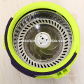 Spin mop 360 degree spin up with turbo deceleration bucket