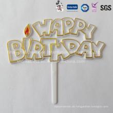 Einzigartige benutzerdefinierte Kuchen Dekoration Pick