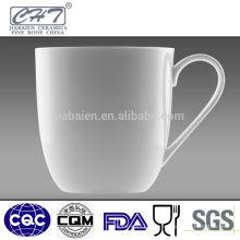 Tasse à café en porcelaine blanche fine porcelaine fine