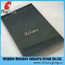 Reliance Verre teinté gris foncé avec épaisseur 4mm