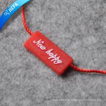 2015 nova qualidade plástico String Seal Tag com letra Design