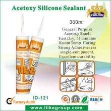 Kingjoin Glass Door and Window Strong Adhesive Silicone Sealant