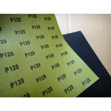 Green Paper Silicon Carbide Abrasive Sheet