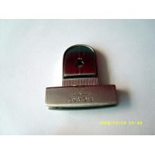 Grabado logotipo metal material moda cerraduras para bolsos