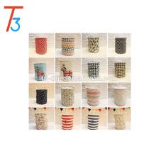 Large capacity folding canvas laundry basket bar