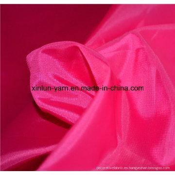 Tela de nylon del nilón Spandex del rayón de la media para la chaqueta de los bolsos