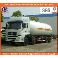 8X4 Donfeng LPG Gaslieferung 12wheel Propan Transport Tankwagen