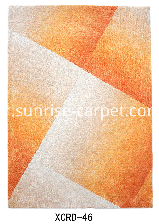 Microfiber with design Orange