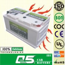 654, 12V80AH, South Africa Model, Auto Storage Maintenance Free Car Battery