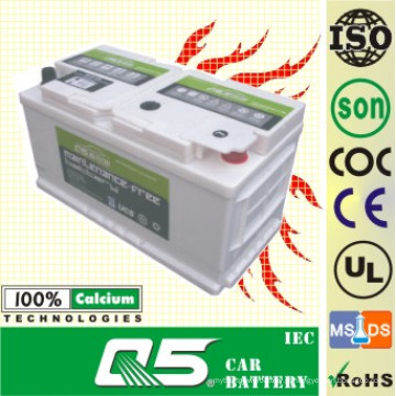 DIN-58827 12V88AH Modelo BMW & Benz & Jaguar para Bateria de Carro Livre de Manutenção