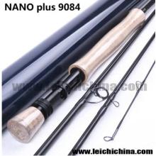 Canne à pêche à la mouche Nano Plus fibre de carbone 9 FT 8wt