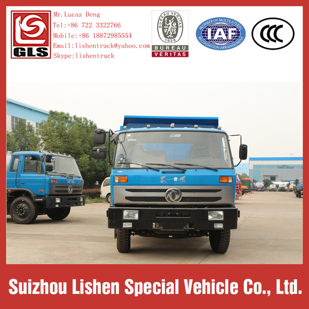 Dongfeng 145 Hydraulic Swing Arm Garbage Truck