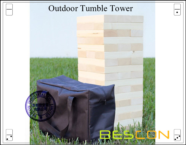 Outdoor Tumble Tower