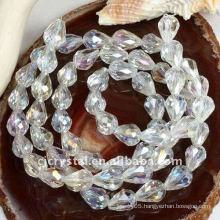 round lucky eye beads