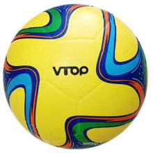 Yellow Color Smooth Surface Soccerball for Sporting