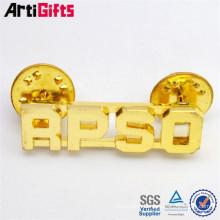 Promotional metal gear lapel pin