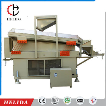 rice wheat corn Blowing gravity destoner machine