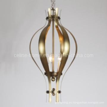 3 luces de hotel lámpara colgante de hierro (SL2159-3)