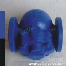 Wcb / CF8 / CF8m Corps 150 / 300lb Ball Pipe à vapeur