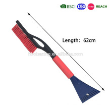 promotion plastic snow brush with ice scraper