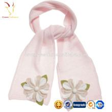 Diseños gruesos grandes de la bufanda de lana de la cachemira de China