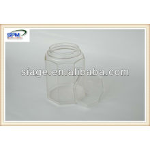 custom plastic jar for cordyceps sinensis