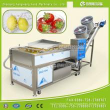Máquina automática de lavado y secado de frutas