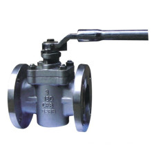 China-Fabrik API Hülse Flansch-Edelstahl-Stecker-Ventil