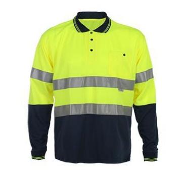 2017 Long Sleeve Reflective Safety T-Shirt
