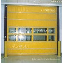 porta de PVC de alta velocidade