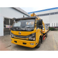 Dongfeng 4ton Section 3 bras droit Grue sur camion