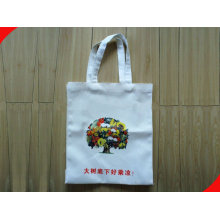Personalized Printed Polyester Canvas Hand Custom Reusable Shopping Bags For Promotion