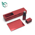 Wholesale Paper Eco Friendly Cosmetic Box Tube For Lipstick Lip Balm