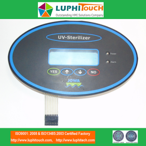 JOWA UV Steriliser Water Handling Equipment Keypad Membrane