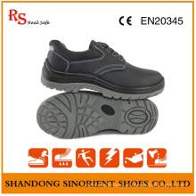Sapatilhas de segurança baratas de aço inoxidável PU Sole RS812