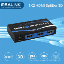 3D Supported HDMI 1 in 2 out HDMI Splitter 1X2