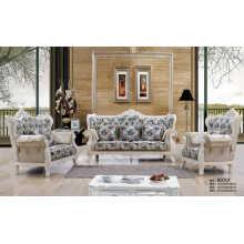 Real, sofá de Europa, nuevo clásico tela sofá (B001)