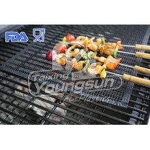 Bottom price for BBQ Grilling Basket PTFE Reusable Heavy-Duty Grill BBQ Mats export to Malawi Manufacturers