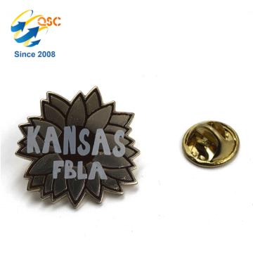 pino de lapela do emblema do metal, pino do esmalte