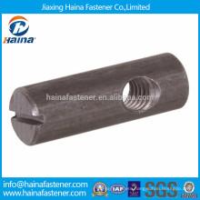 Customized high tensile furniture fastener,funiture cross dowel