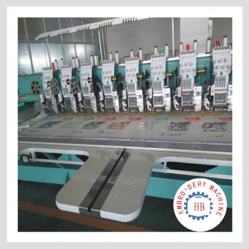 máquina de bordar computarizada de alta calidad caliente de la venta en la india