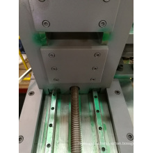 Автоматическая разгрузочно-продольная машина с подвижным натяжением