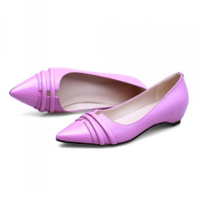 lovely women height increasing point toe shoes