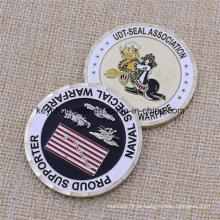 Promoção Personalizada Metal Naval Special Warfare Challenge Coin