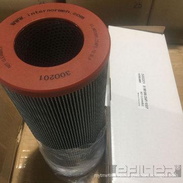 Wire Mesh Oil Filter Internormen 01.NR1000.80G.10BP