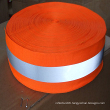 high visibility high reflective safety material ribbon for sewing on