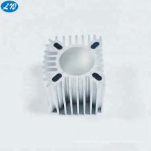 Precision extrusion aluminum heatsink cnc fabrication factory machining heat sink aluminum