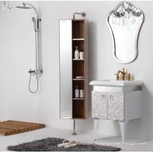 Weiße Splitter-Edelstahl-Badezimmer-Möbel (YB-901)