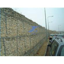 Tianshun Brand Galfan Gabion Retaining Walls for Stone Basket