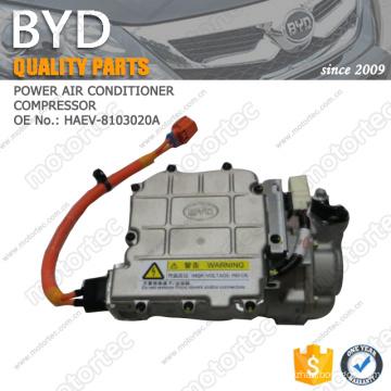 OE BYD spare Parts POWER AIR CONDITIONER COMPRESSOR HAEV-8103020A